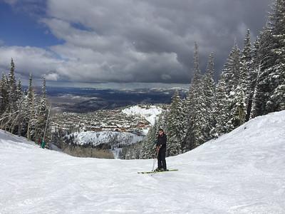 Skiing at Deer Valley/Utah - March, 2017