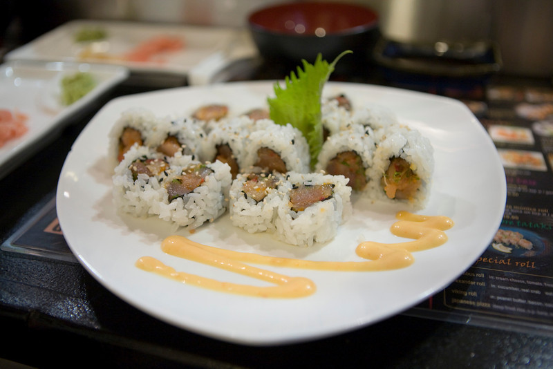 Spicy Albacore Tuna Roll