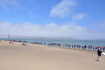 Hands Across The Sand 6-26-10 Crissy Field