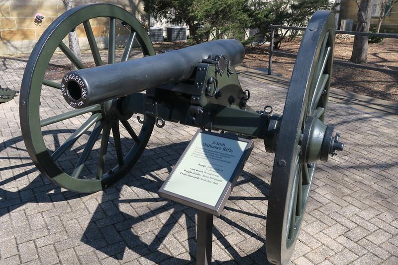 Chickamauga Visitor Center - 3-inch Ordinance Rifle