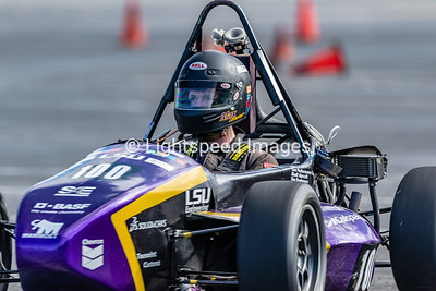 UTA Formula SAE 2018 Fall Autocross