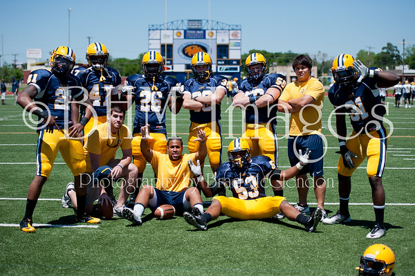 2012 Texas A&M Commerce - Spring Scrimmage