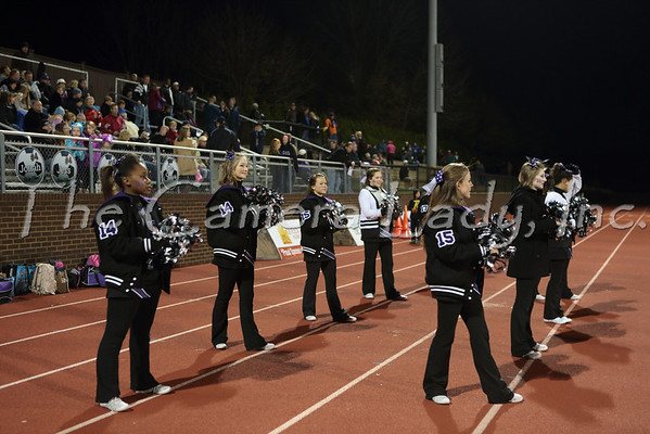 CHCA 2013 Var Cheerleaders vs Clark 10.25