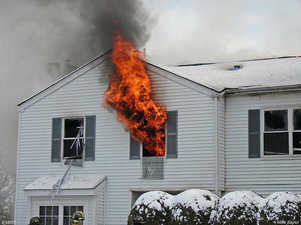 Candlestick Ct. Fire 2/16/07