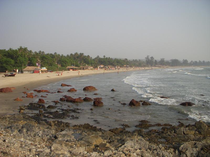 Arambol Beach looking north