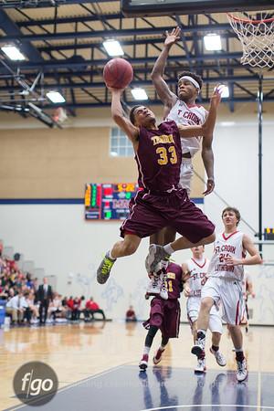 3-6-15 Class 4AA Boys Basketball Championship - St. Croix Lutheran v Minneapolis Roosevelt