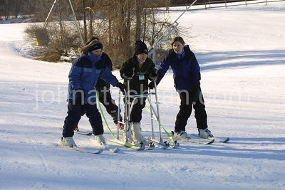 Hospital For Special Care - Handicapped Skiing Program - January 26, 2001