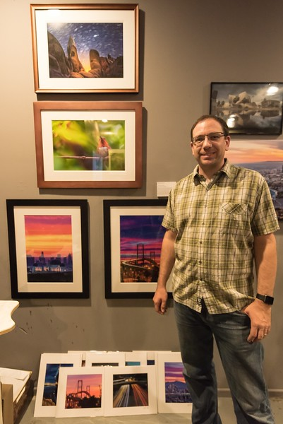 June 1, 2018 - Influence: Presenting the Photography Work of Edgar Reyes, at the Art Gallery at 1340 W. Main Street, Alhambra, CA 91801, with Edgar Reyes and other Photographers.