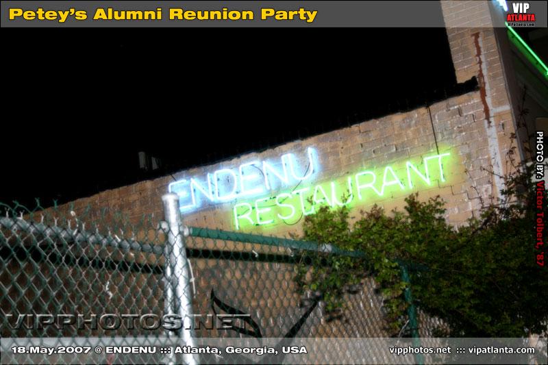 Petey's Alumni Reunion Party @ Endenu ::: ATL, GA [May.18.2007]