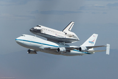 Space Shuttle Endeavor at LAX