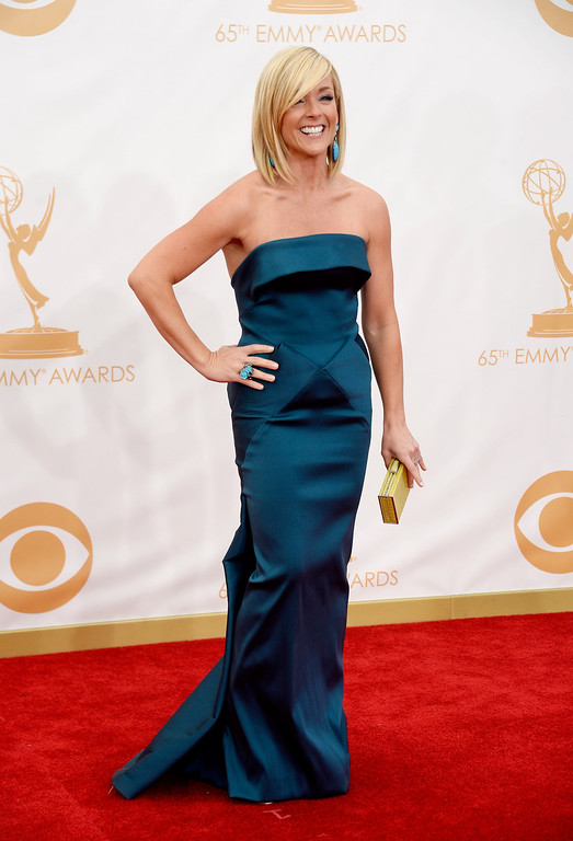 . Actress Actress Jane Krakowski arrives at the 65th Annual Primetime Emmy Awards held at Nokia Theatre L.A. Live on September 22, 2013 in Los Angeles, California.  (Photo by Frazer Harrison/Getty Images)