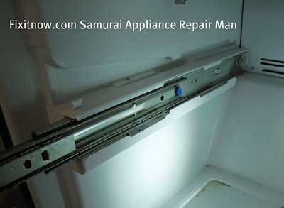 Amana-built (and some Kenmores) Refrigerator Freezer Door Slides
