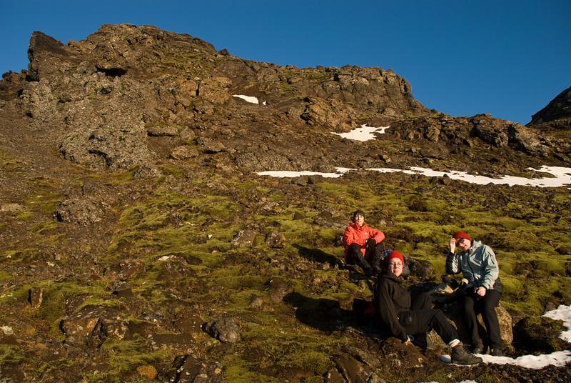 Þorbjörg, Erna og Álfhildur