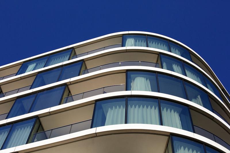 Upscale Apartment Building