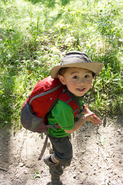 Bryce's First Backpacking Trip - May, Afton 2012