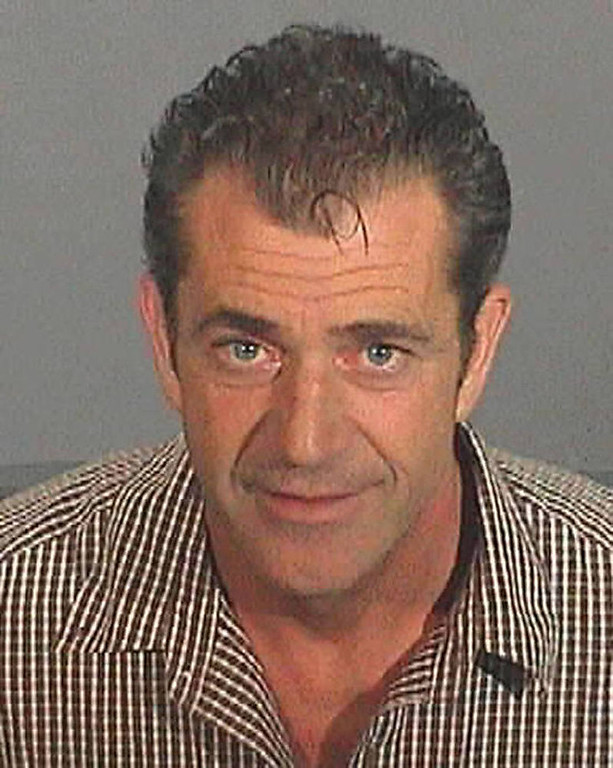 . This booking photo released by the Los Angeles County Sheriff\'s Department, shows actor-director Mel Gibson taken after he was arrested Friday, July 28, 2006. Gibson\'s drunk-driving arrest and subsequent anti-Semitic tirade kicked off a back-and-forth among Hollywood insiders expressing their opinions in paid advertisements in the Los Angeles Times and the entertainment trade papers Variety and The Hollywood Reporter. (AP Photo/Los Angeles County Sheriff\'s Department)