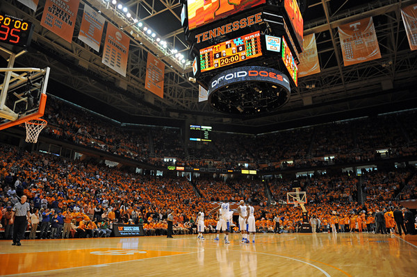 Kentucky at TN MBB '10
