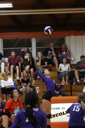 September 7, 2018 - Lincolnwood Volleyball vs. Father McGivney