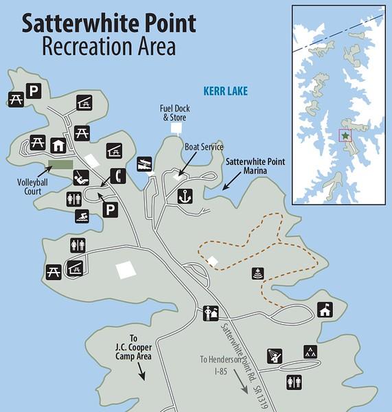 Kerr Lake State Recreation Area (Satterwhite Point Recreation Area)