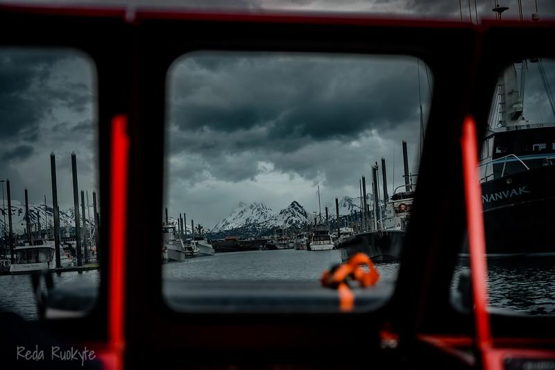 Seward, Holmer, Anchorage in Alaska