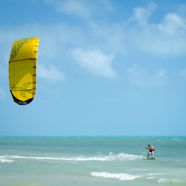 Kiteboarder, Bahia Honda Key, Florida (80421)