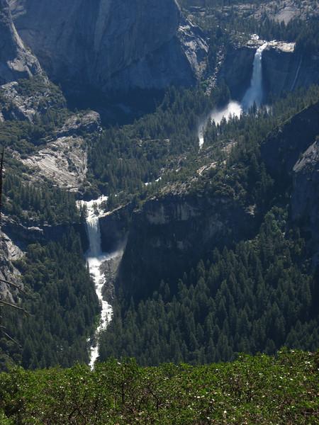 Vernal and Nevada Falls