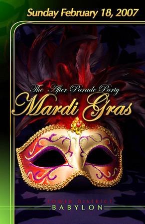 2007-02-18 [Mardi Gras After Parade Party, Babylon Night Club, Fresno, CA]