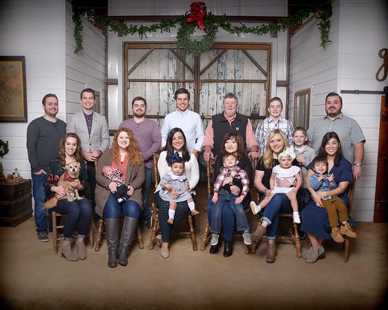 Cason Family Christmas 2018
