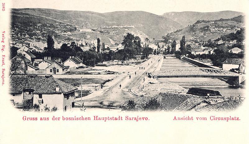 Gradnja sarajevskog tramvaja 1894