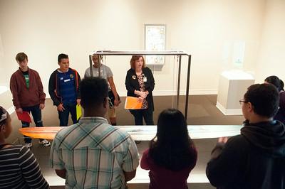 School Tour @ The Mint Museum Uptown 11-30-17 by Jon Strayhorn