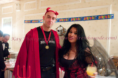 Alexis & Brett's Party; Halloween 2010.