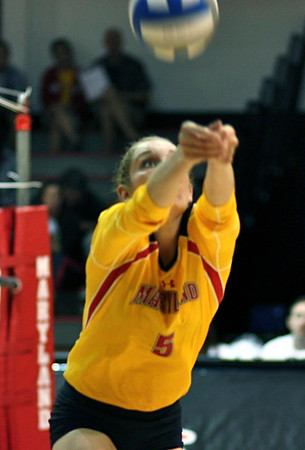 Terps volleyball 2011 beats uva