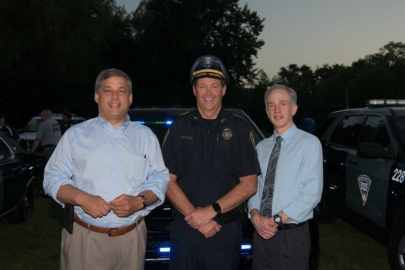 Senator Bruce Tarr, Wilm Police Chief Joseph Desmond and Wilm Town Manager Jeff Hull.jpg