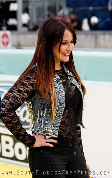Chelsea Bain - NASCAR 2012