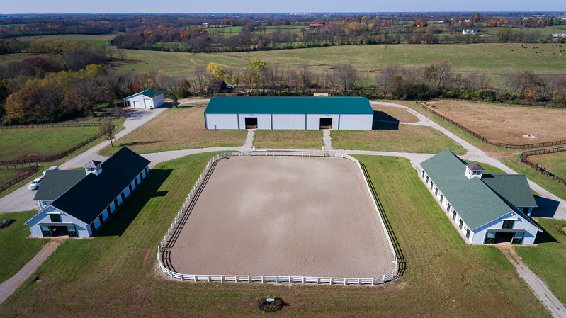 New Vocations at Mereworth Farm, Lexington. 11.09.17