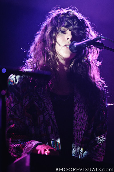 Victoria Legrand of Beach House performs on October 12, 2010 at Jannus Live in St. Petersburg, Florida.
