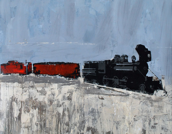 Age of Steam-Rabo, 30x40
