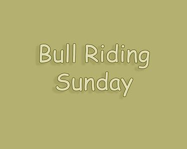 WOS 2018 Bull Riding Sunday