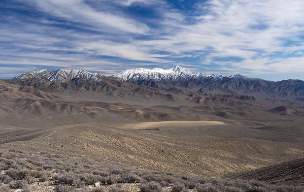 Pinto Peak - Death Valley NP  3.11.17
