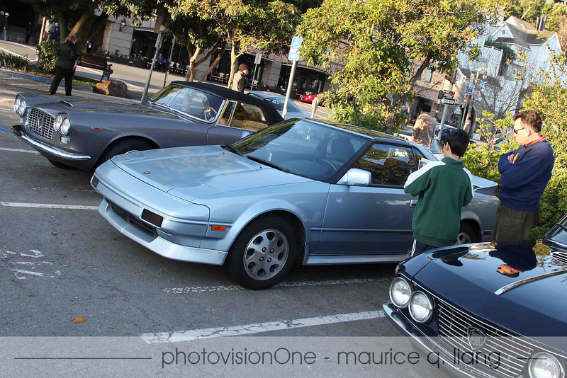 My original-owner Supercharged Toyota MR2 got some looks, too.