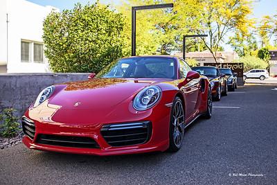 Porsches + Coffee
