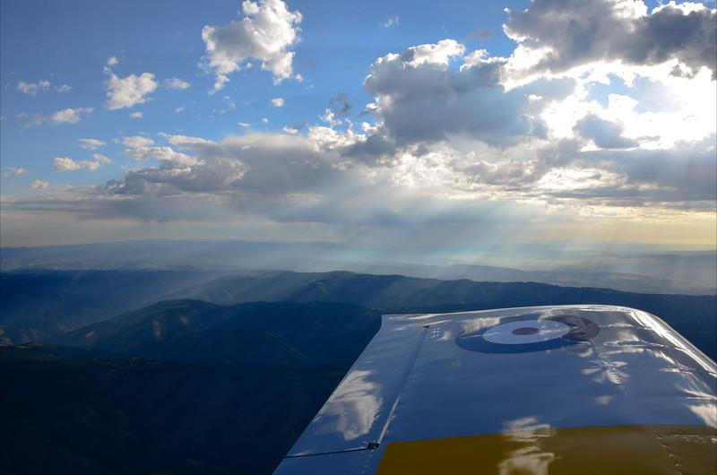 Morning over Idaho