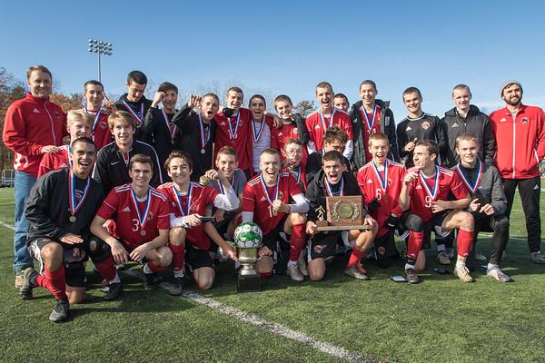 CVU Varsity Soccer 2019