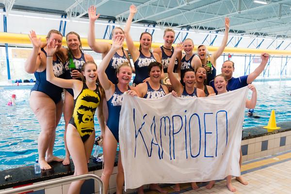 Katwijk dames 2 kampioen [25-04-2015]