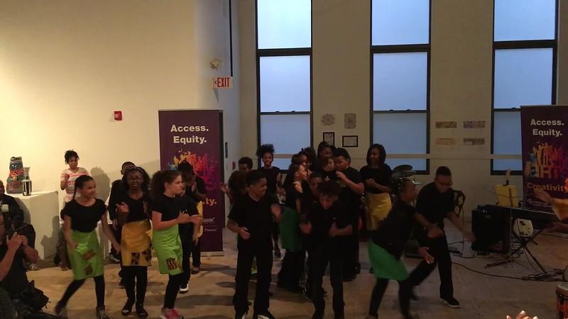 Pittsburgh Dilworth elementary dance performance