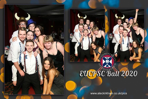 Mirror Booth Hire - Edinburgh University EUCPSC Ball 2020