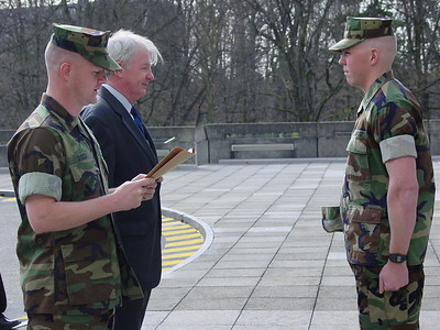 Promotion to Sgt. in Geneva