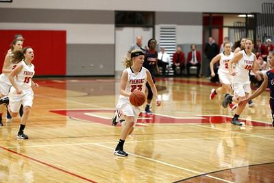 Girls Varsity Basketball - 2/10/2017 Big Rapids