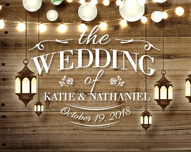 Katie & Nathaniel's Wedding!