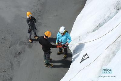 Ice Climb with Sarah